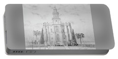 Sacred Steps - St. George Temple Portable Battery Charger