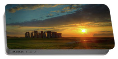 Sacred Sunset Portable Battery Charger