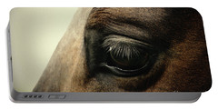 Sadness Horse Eye Portable Battery Charger