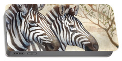Safari Sunrise Portable Battery Charger by Mauro DeVereaux