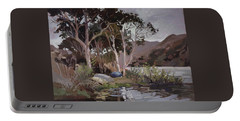 Safe Shelter  - Plein Air - Catalina Island Portable Battery Charger
