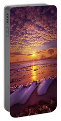 Portable Battery Charger featuring the photograph Safely Secluded In A Far Away Land by Phil Koch