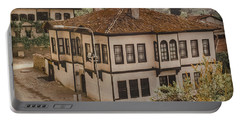 Portable Battery Charger featuring the photograph Safranbolu, Turkey - Mansion I Oldplate by Mark Forte