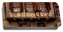 Portable Battery Charger featuring the photograph Safranbolu, Turkey - Triple Window Bay by Mark Forte
