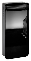 Portable Battery Charger featuring the photograph Sag Harbor Sunset 2 In Black And White by Rob Hans