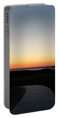 Portable Battery Charger featuring the photograph Sag Harbor Sunset 3 by Rob Hans