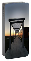 Portable Battery Charger featuring the photograph Sag Harbor Sunset by Rob Hans