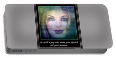Sage Advice Portable Battery Charger by Irma BACKELANT GALLERIES