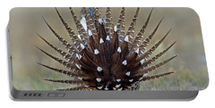 Sage-grouse Tail Fan Portable Battery Charger