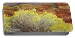 Sagebrush In The Malheur National Wildlife Refuge Portable Battery Charger