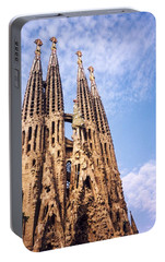 Sagrada Familia Portable Battery Charger by Sandy Taylor
