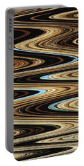 Saguaro Abstract Portable Battery Charger by Tom Janca