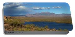 Saguaro Lake Panorama Portable Battery Charger