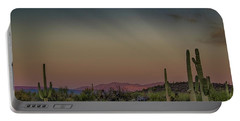 Saguaros Salute Rays Rising Portable Battery Charger