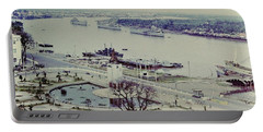 Saigon River, Vietnam 1968 Portable Battery Charger