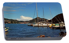 Portable Battery Charger featuring the photograph Sail Boat by Gary Wonning