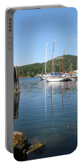 Sail Boats At Pender Horbour Portable Battery Charger