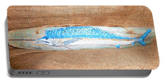 Sail Fish Portable Battery Charger by Ann Michelle Swadener