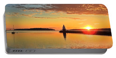 Sail Into The Sunrise Portable Battery Charger