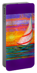 Sailaway Portable Battery Charger by Jeanette Jarmon