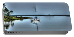 Sailboat Off Plash Portable Battery Charger