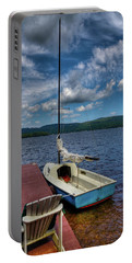 Sailboat On First Lake Portable Battery Charger