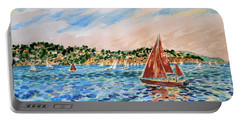 Sailboat On The Bay Portable Battery Charger