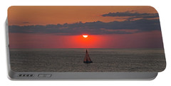 Sailboat Sunset Portable Battery Charger