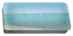 Sailboats At West Wittering Portable Battery Charger