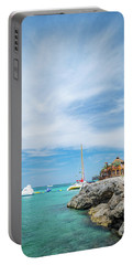 Coastline Sailing In Montego Bay Portable Battery Charger