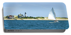 Sailing Around Barnstable Harbor Portable Battery Charger