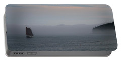 Sailing Away On Margaret Todd Portable Battery Charger by Living Color Photography Lorraine Lynch