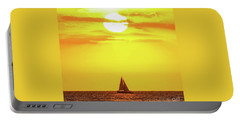 Sailing In Hawaiian Sunshine Portable Battery Charger