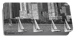 Sailing In New York Harbor No. 3-1 Portable Battery Charger