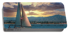 Sailing In San Diego Portable Battery Charger