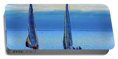 Sailing In The Blue Portable Battery Charger