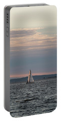 Sailing In The Puget Sound Portable Battery Charger