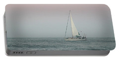 Portable Battery Charger featuring the photograph Sailing Into Dawn by Robert Banach