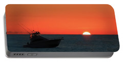 Sailing Into The Sunset Portable Battery Charger