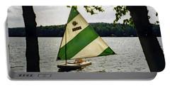 Sailing On Lake Dunmore No. 1 Portable Battery Charger