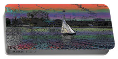 Sailing South Lake Union Portable Battery Charger