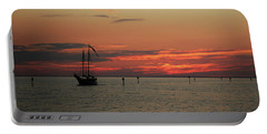 Sailing Sunset Portable Battery Charger