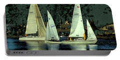 Sailing The Harbor Portable Battery Charger
