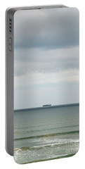 Portable Battery Charger featuring the photograph Sailing The Horizon by Linda Lees