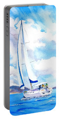 Sailing The Islands Portable Battery Charger