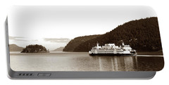 Sailing The San Juan Islands Portable Battery Charger