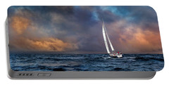 Sailing The Wine Dark Sea Portable Battery Charger