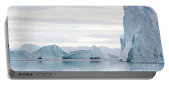 Sailing Through  The Icefjord Portable Battery Charger