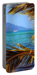 Portable Battery Charger featuring the photograph Sailing Vacation by Alexey Stiop