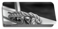 Sailor's Knot Square Portable Battery Charger